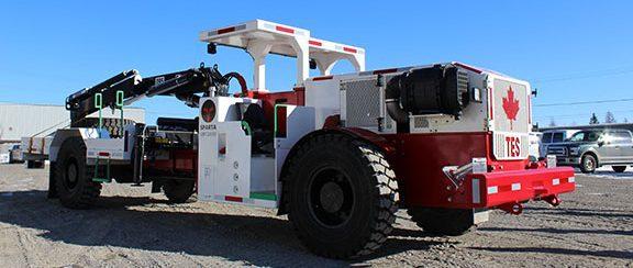 Underground Mining Boom Truck