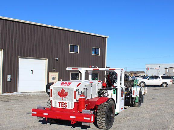 Underground Mining Crane Truck