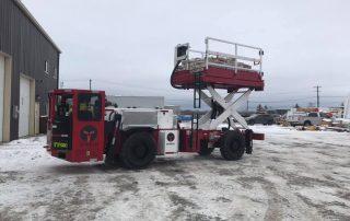 Underground Mining Scissor Truck
